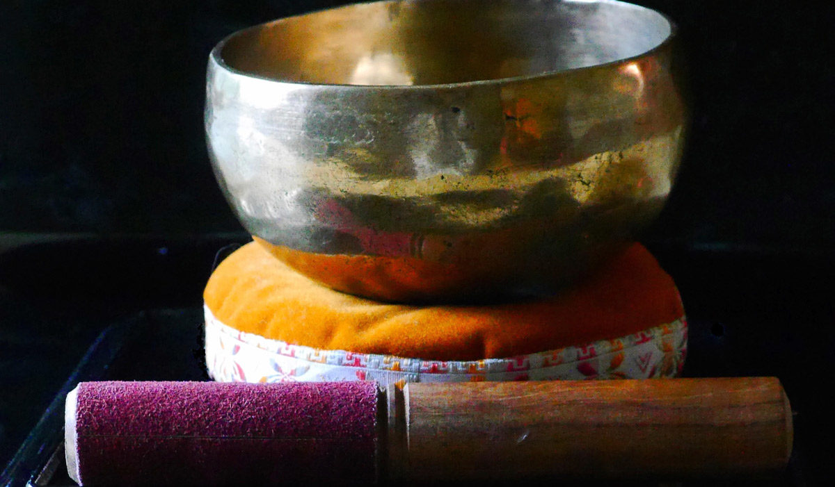 Photo of Tibetan singing bowl by bkkm via iStock