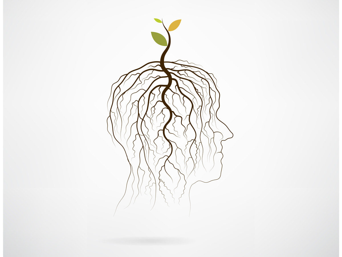 Image of abstract head and growth by chatchaisurakram via iStock